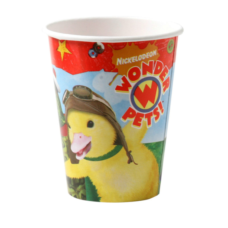 Wonder Pets 9 oz. Paper Cups (8 count)