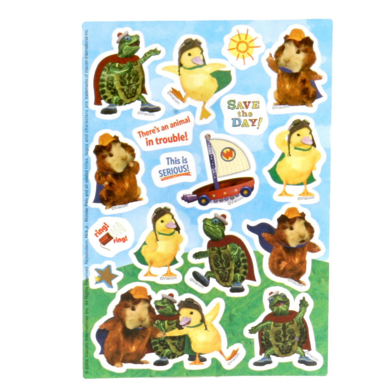 Wonder Pets Stickers (2 count)