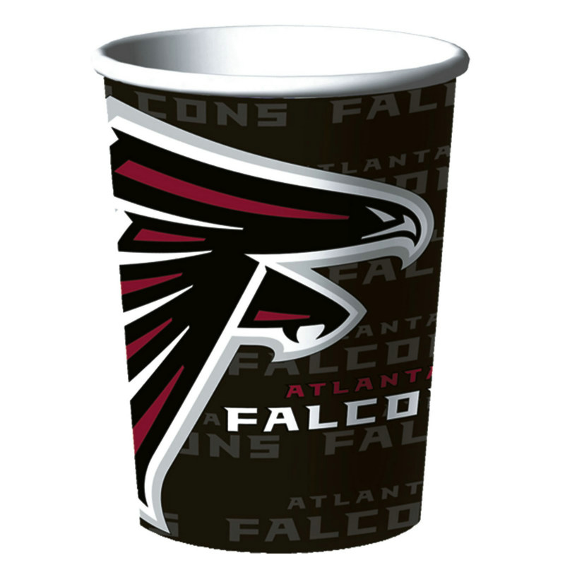 Atlanta Falcons 16 oz. Plastic Cup (1 count)
