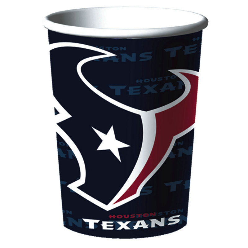 Houston Texans 16 oz. Plastic Cup (1 count)
