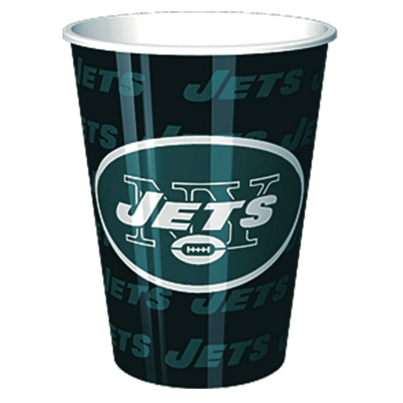 New York Jets 16 oz. Plastic Cup (1 count)