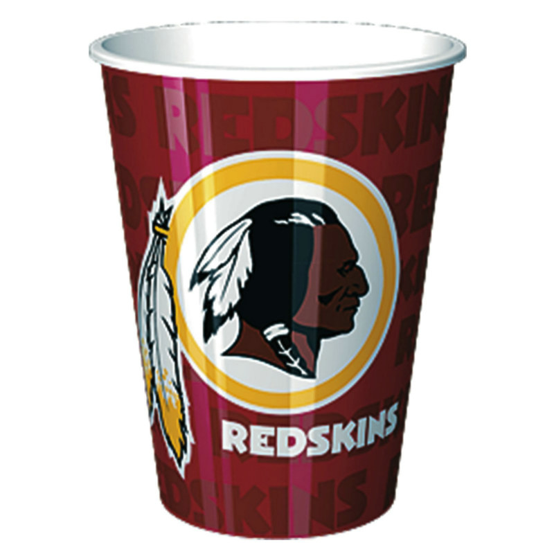 Washington Redskins 16 oz. Plastic Cup (1 count)