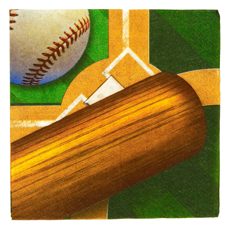 Baseball Lunch Napkins (16 count)