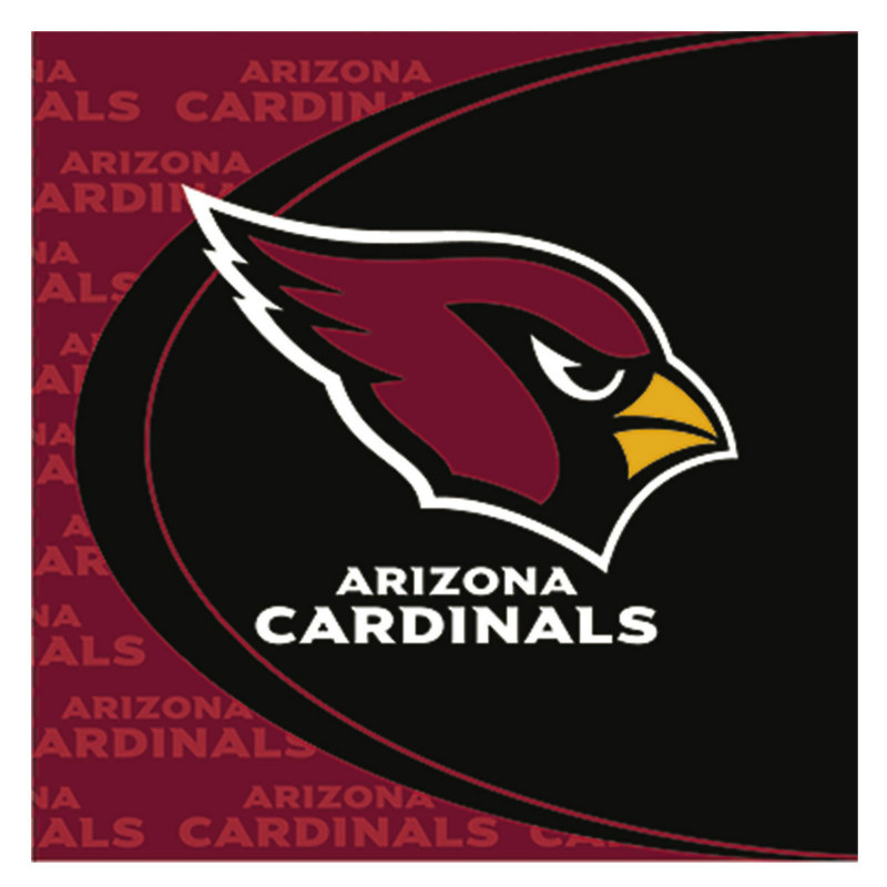 Arizona Cardinals Lunch Napkins (16 count)