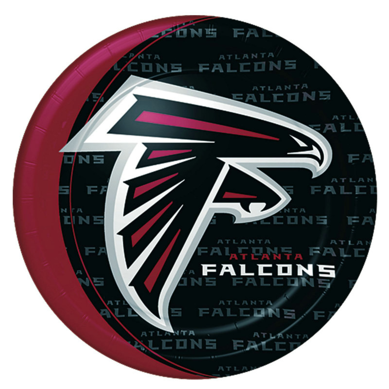 Atlanta Falcons Dinner Plates (8 count)