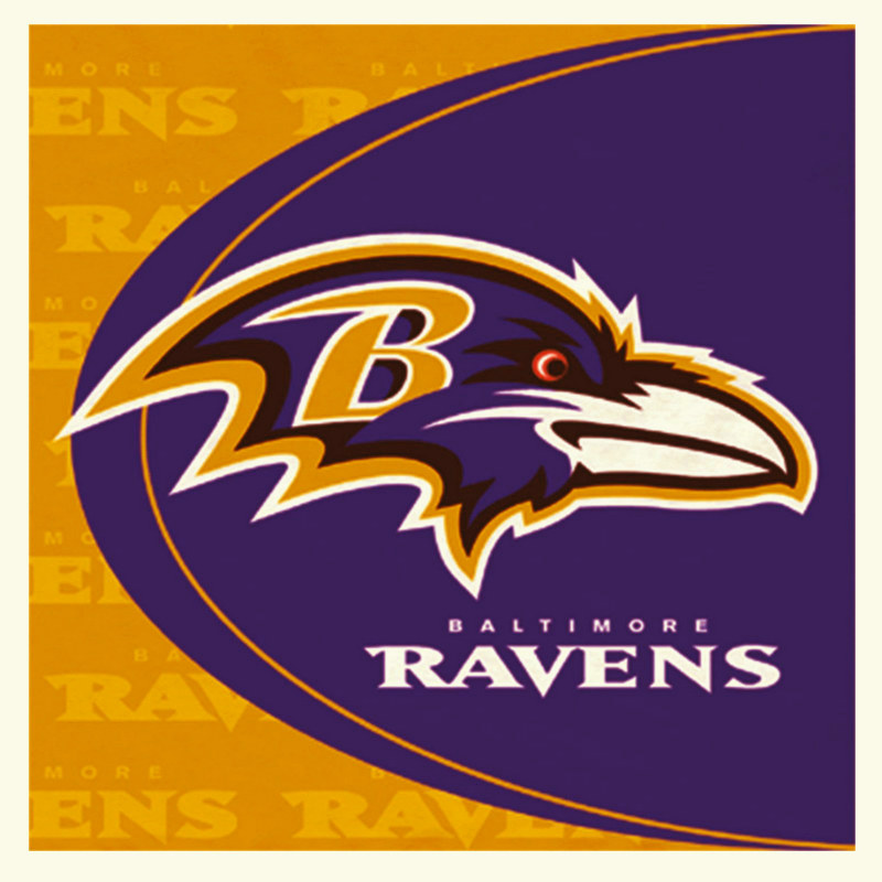 Baltimore Ravens Lunch Napkins (16 count)