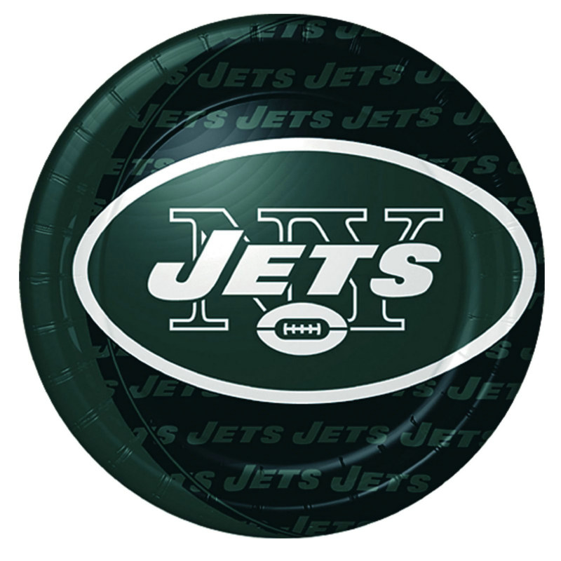 New York Jets Dinner Plates (8 count)