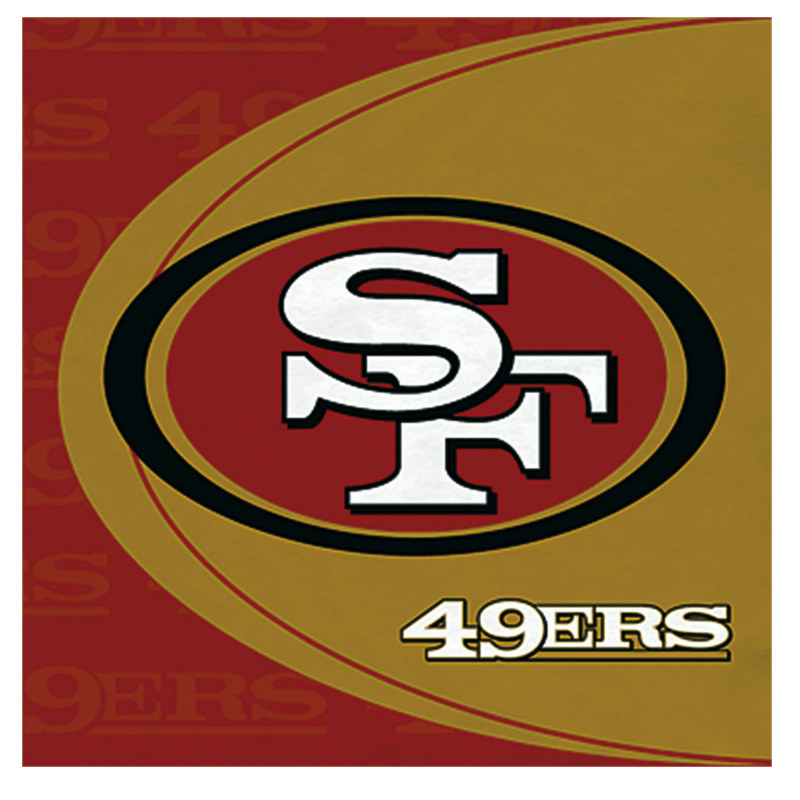 San Francisco 49ers Lunch Napkins (16 count)