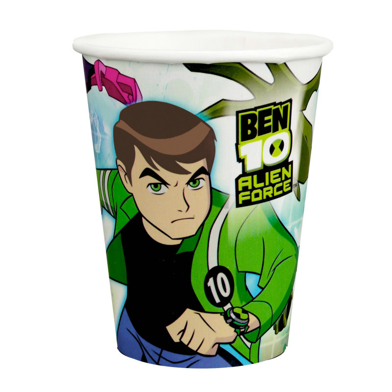 Ben 10: Alien Force 9 oz. Paper Cups (8 count)