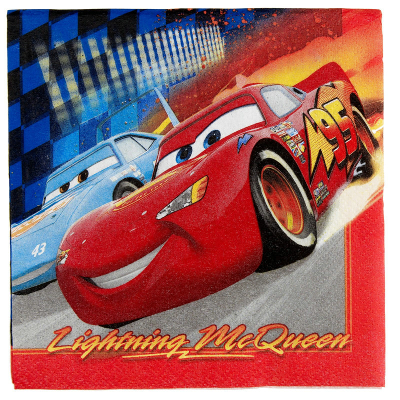 Disney's World of Cars Lunch Napkins (16 count)