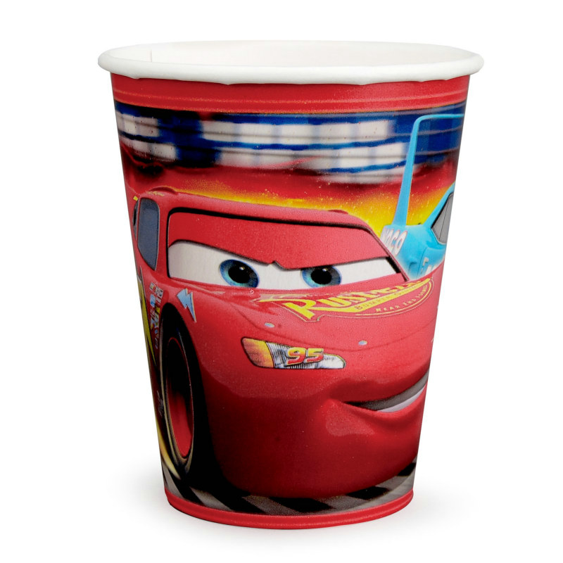 Disney's World of Cars 9 oz. Paper Cups (8 count)