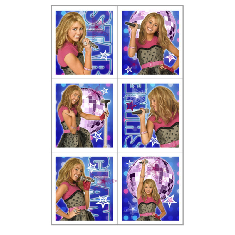 Hannah Montana - Rock the Stage Stickers (4 count)