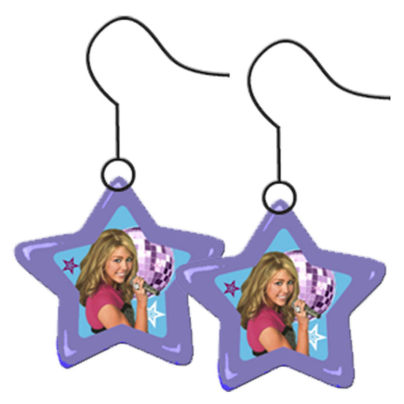 Hannah Montana - Rock the Stage Star Earrings (1 pair)