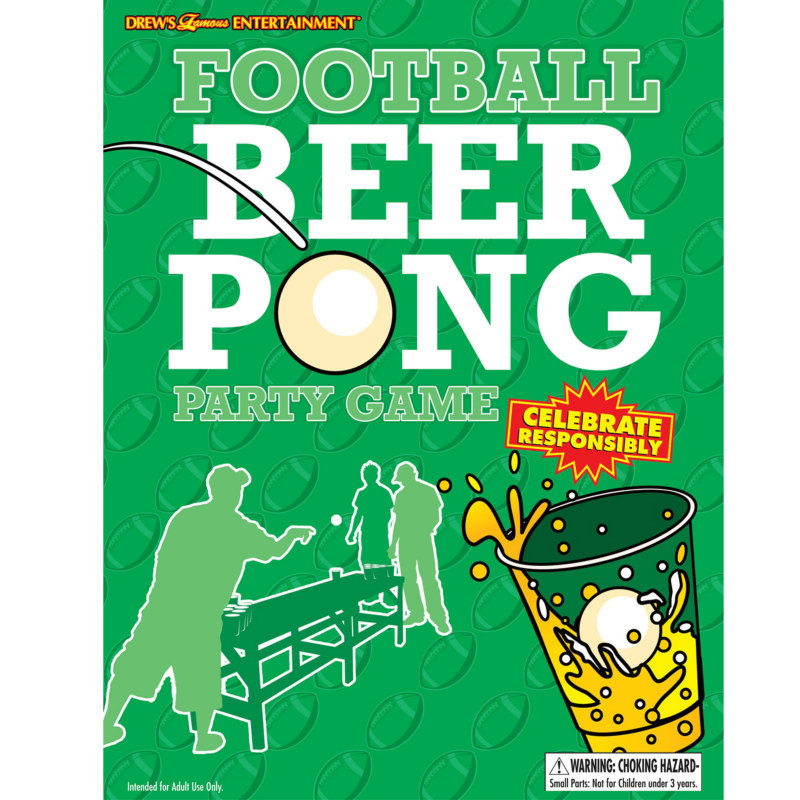 Football Beer Pong Game