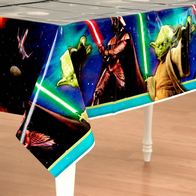 Star Wars 3D Feel the Force Plastic Tablecover