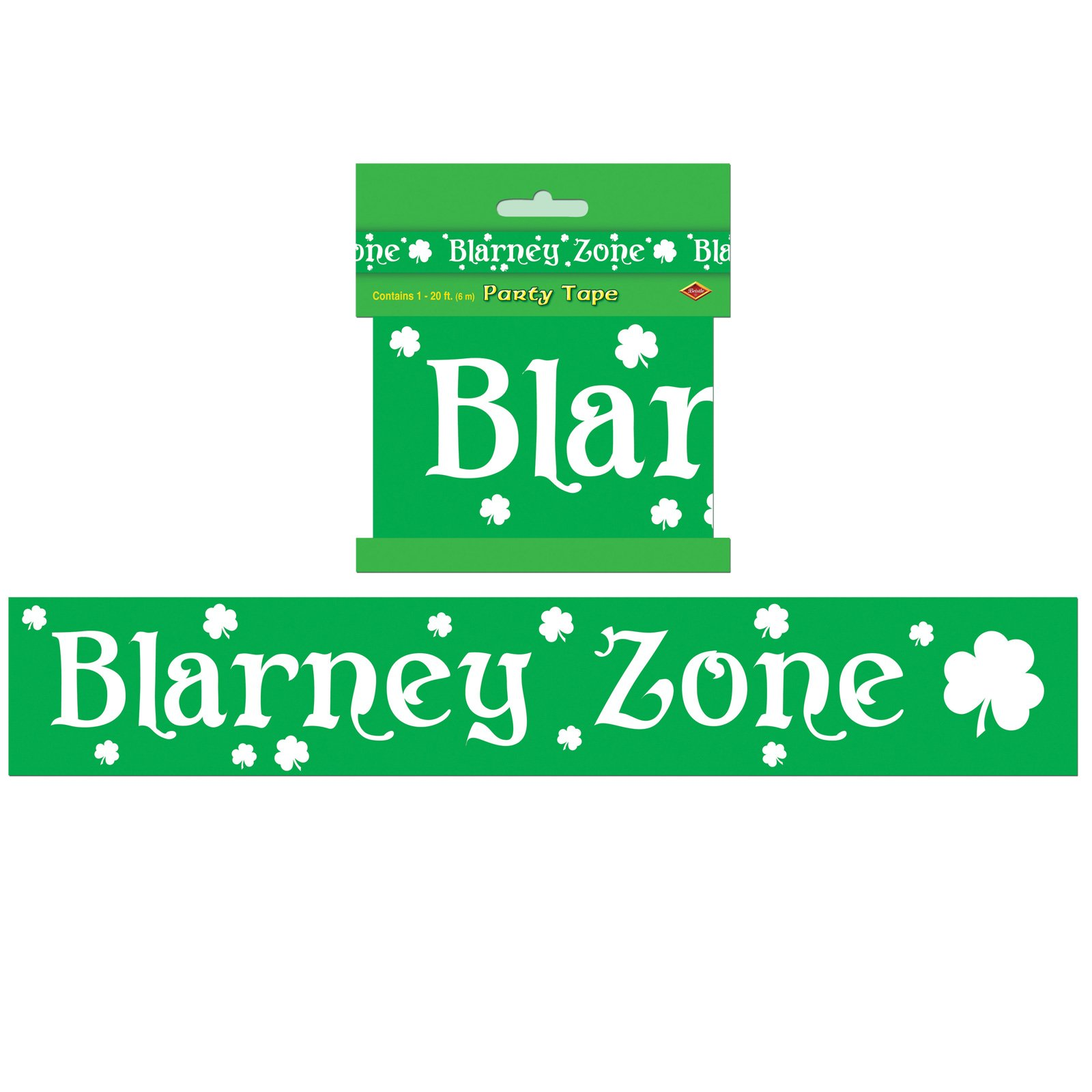 20' Blarney Zone Party Tape
