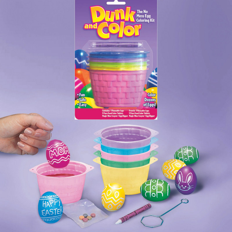 Egg-Dying Dunk and Color Cups (5 cups)