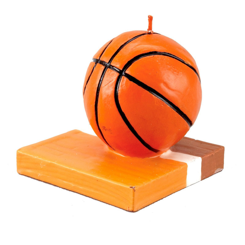 Basketball Molded Candle