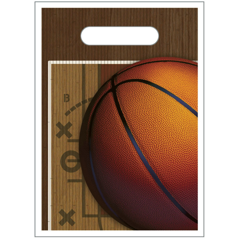 Basketball Treat Bags (8 count)