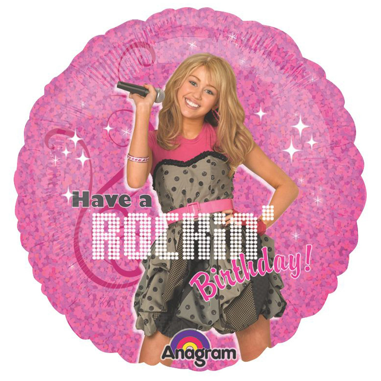 "Hannah Montana - Rock the Stage 18"" Foil Balloon"