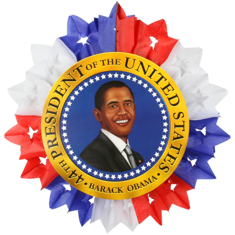 Obama Hanging Star Fan