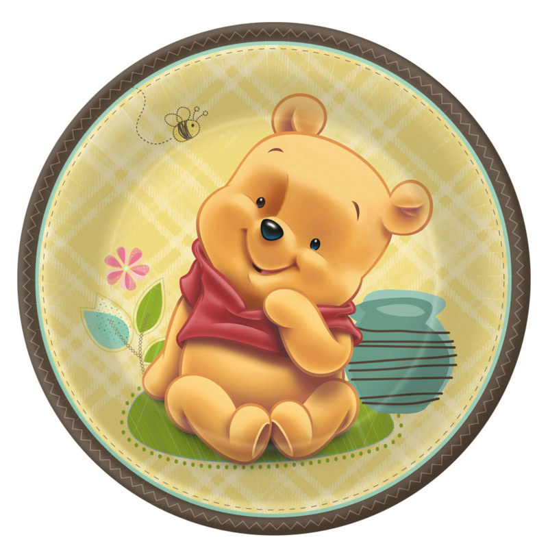 Baby Pooh and Friends Dinner Plates (8 count)