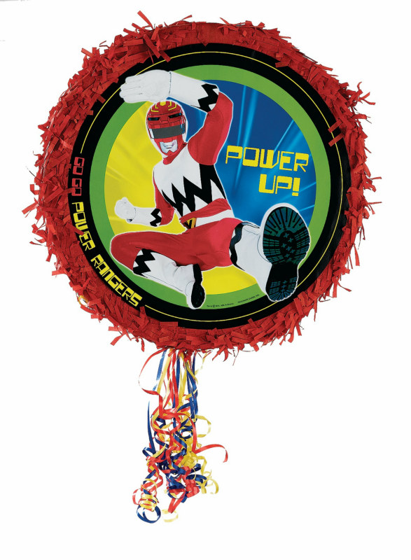 "Power Rangers 17"" Pull-String Pinata"