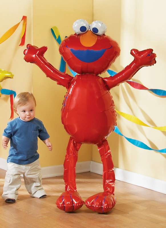 "Elmo Airwalker 50"" Jumbo Foil Balloon"