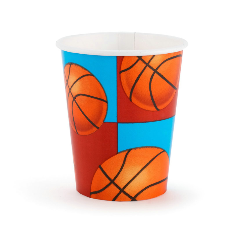 All-Star Basketball 9 oz. Cups (8 count)