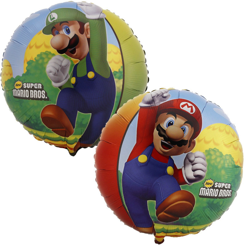 "Super Mario Bros. 18"" Foil Balloon"
