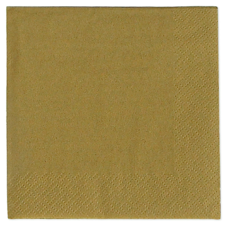 Gold Beverage Napkins (50 count)