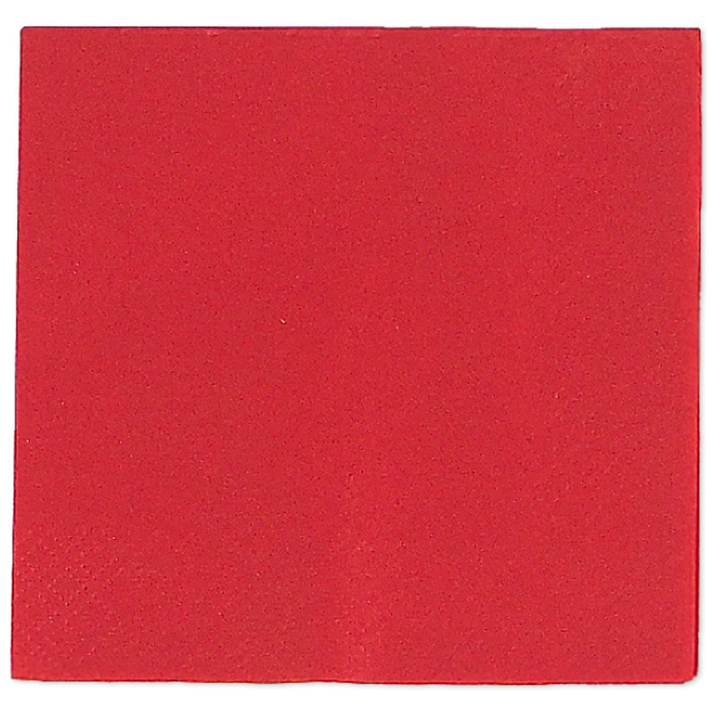 Red Beverage Napkins (50 count)