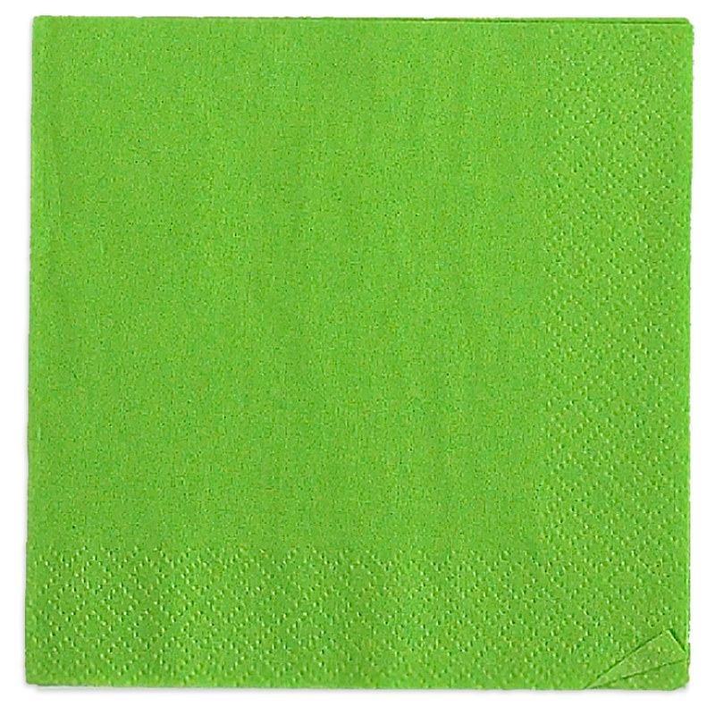 Lime Green Beverage Napkins (50 count)