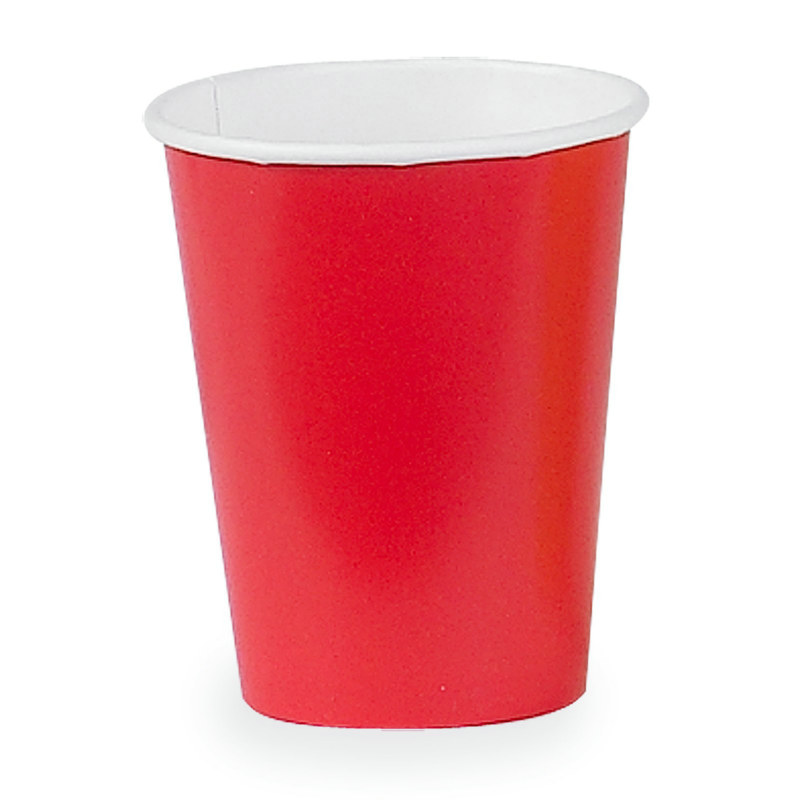 Red 9 oz. Paper Cups (24 count)