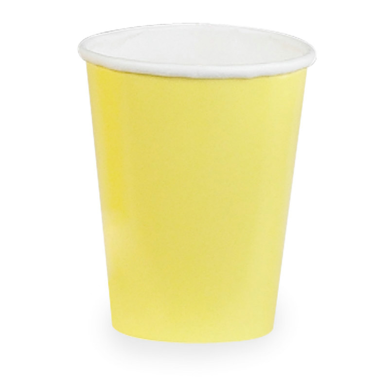 Light Yellow 9 oz. Paper Cups (24 count)
