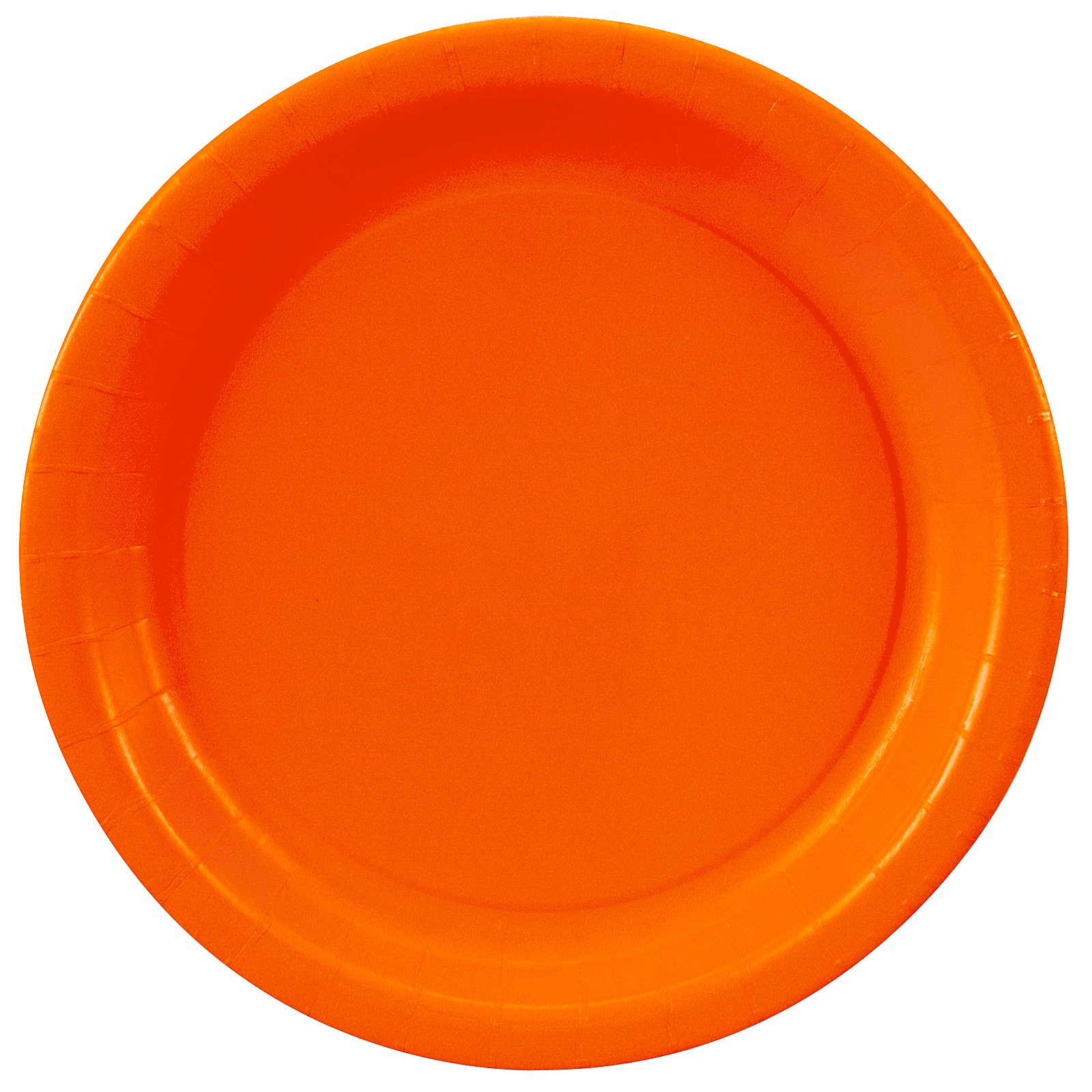 Sunkissed Orange (Orange) Dessert Plates (24 count)
