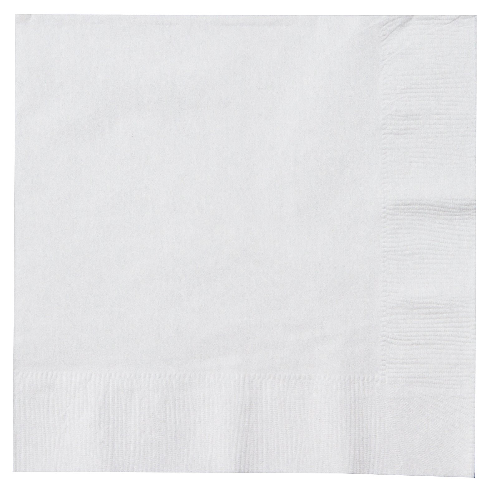 Bright White (White) Lunch Napkin (50 count)
