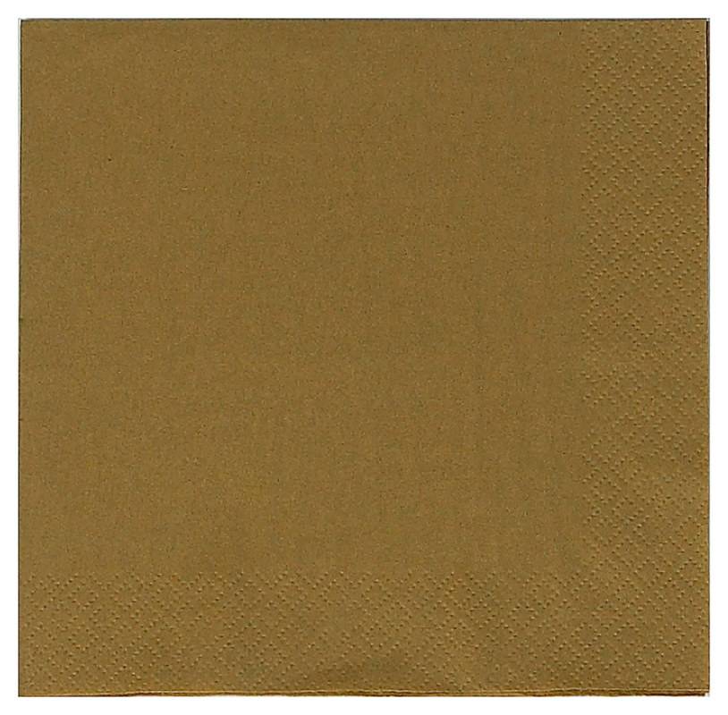 Gold Lunch Napkins (50 count)