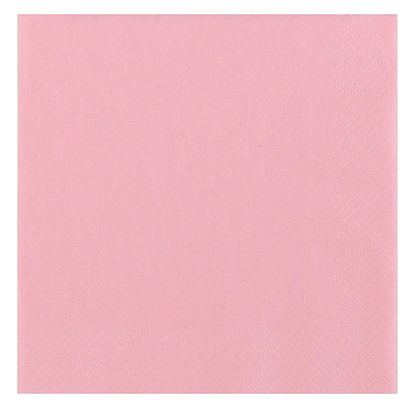 Light Pink Lunch Napkins (50 count)