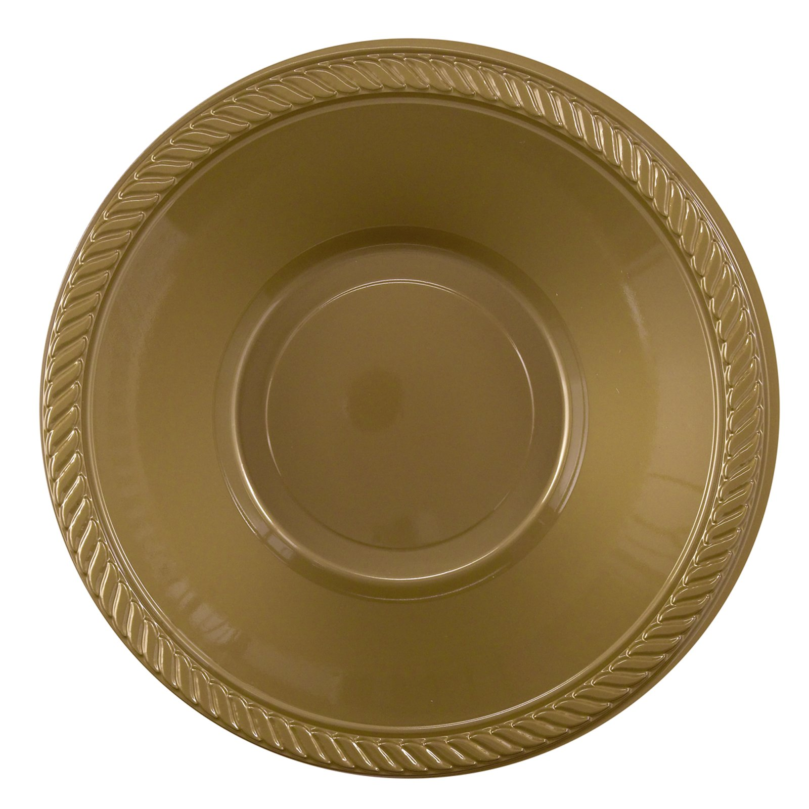 Gold Plastic Bowls (20 count)