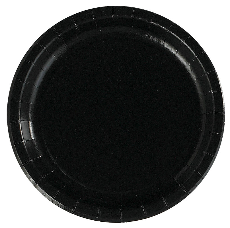 Black Dinner Plates (24 count)
