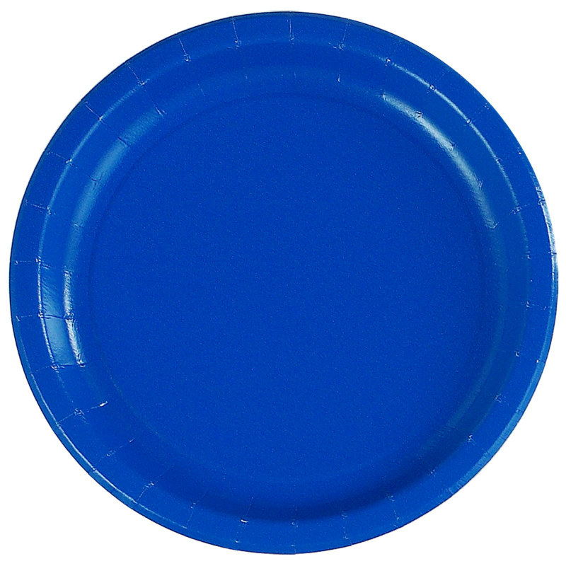 Royal Blue Dinner Plates (24 count)