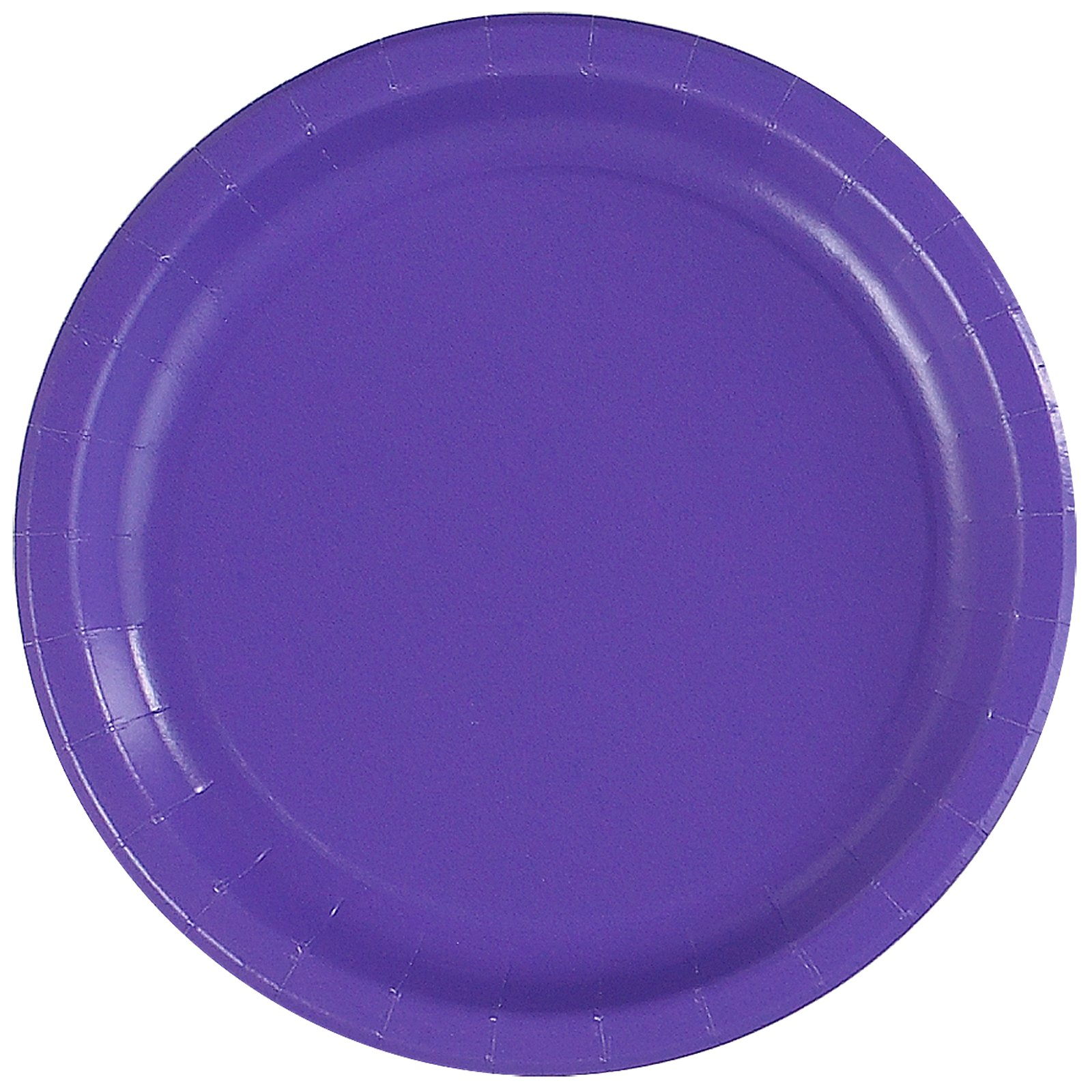 Simply Purple Paper Dinner Plates (24 count)