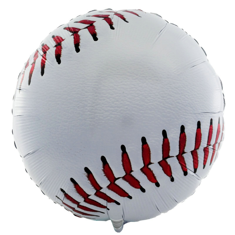 "Baseball Shaped 18"" Foil Balloon"