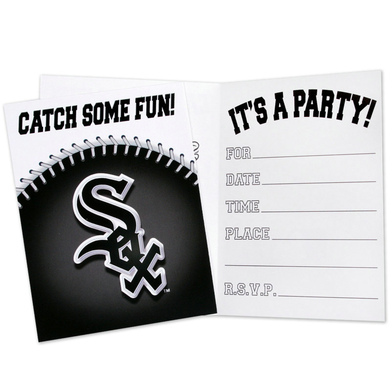 Chicago White Sox Invitations (8 count)