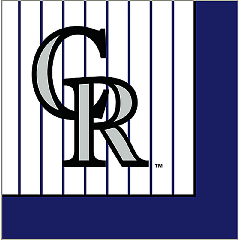 Colorado Rockies Lunch Napkins (24 count)