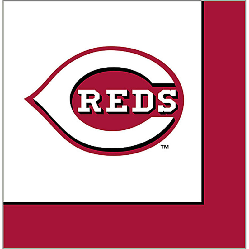 Cincinnati Reds Lunch Napkins (24 count)
