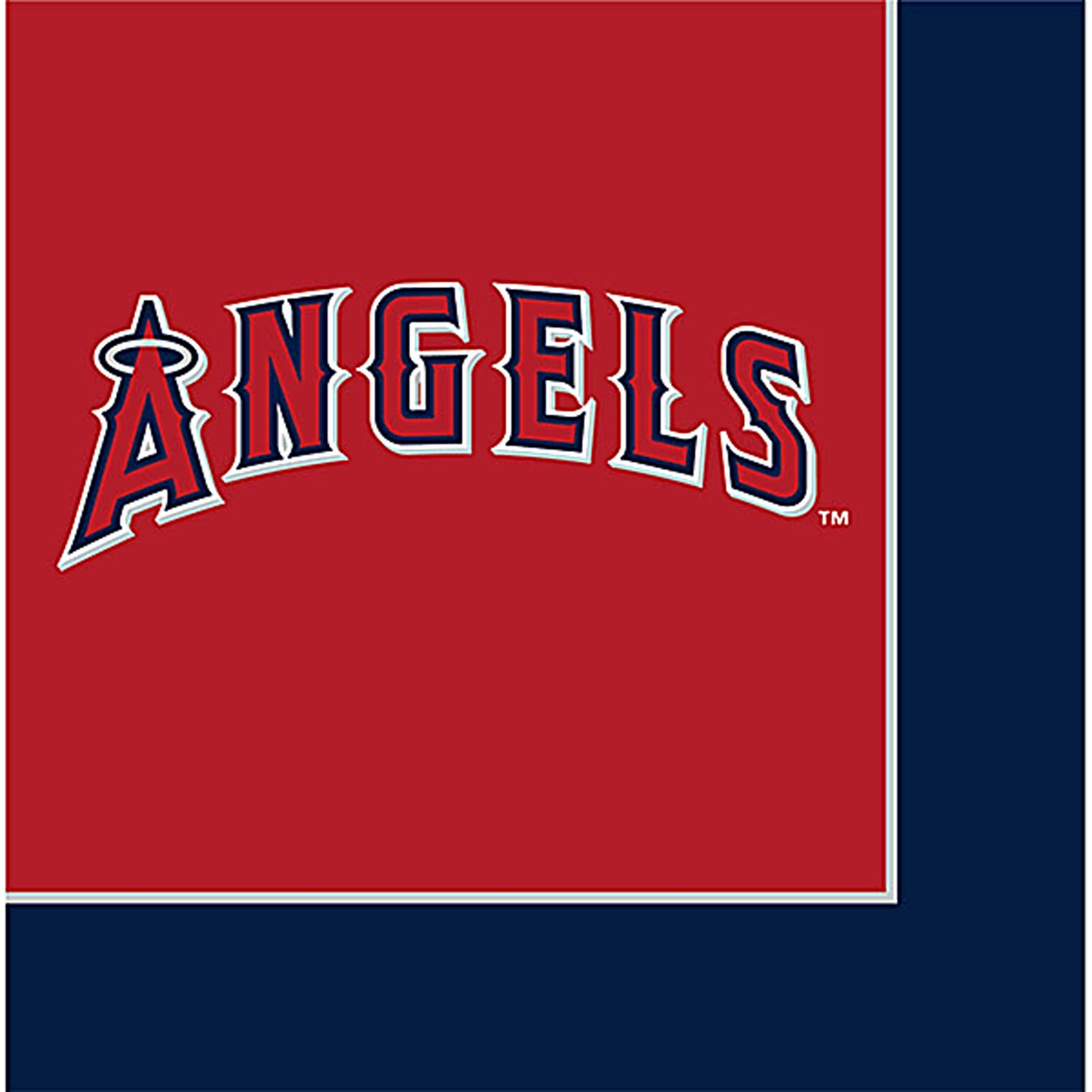 Los Angeles Angels Lunch Napkins (24 count)