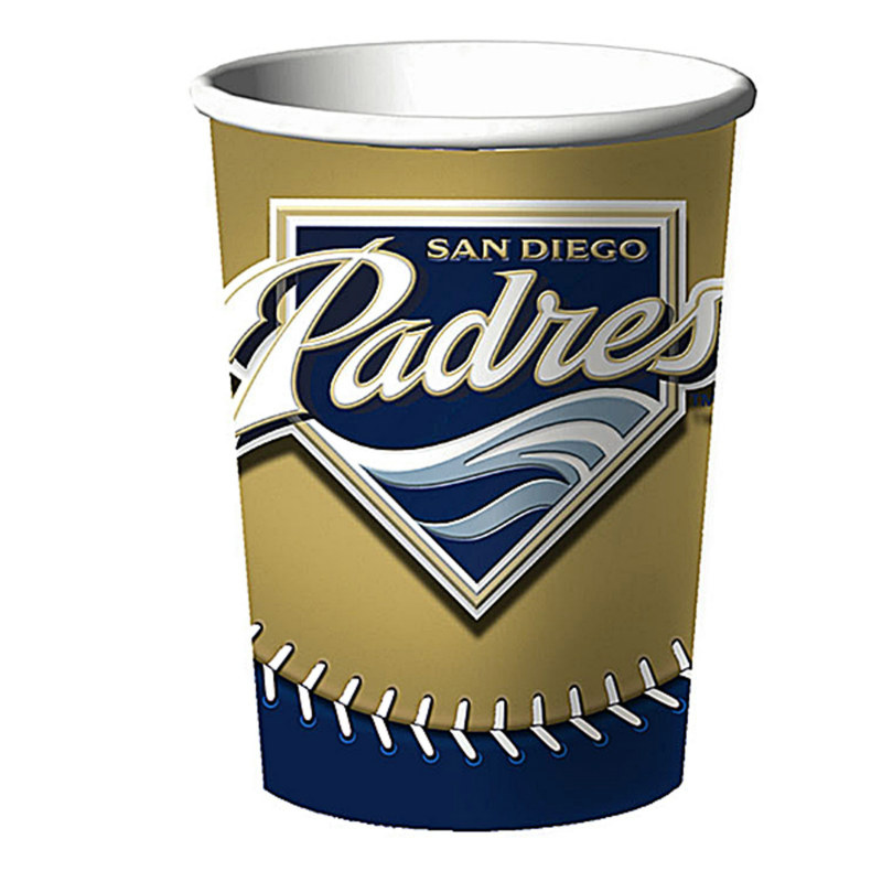 San Diego Padres 16 oz. Hard Plastic Cup (1 count)