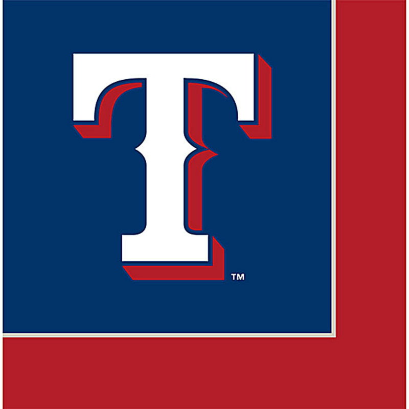 Texas Rangers Lunch Napkins (24 count)